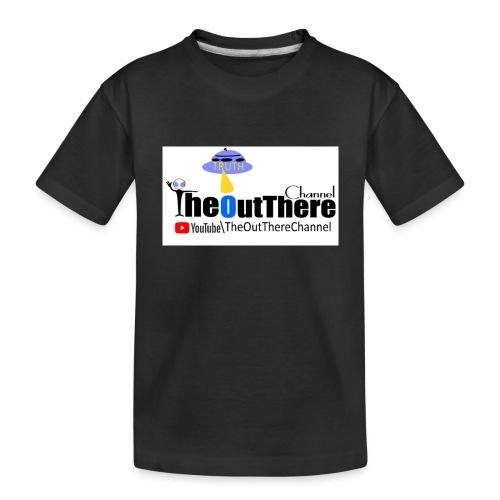 NewBannerOTChan2018 with Crew Back Logo - Toddler Premium Organic T-Shirt
