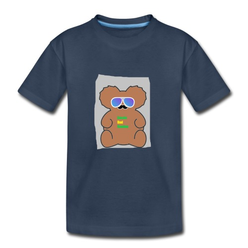 Aussie Dad Gaming Koala - Toddler Premium Organic T-Shirt