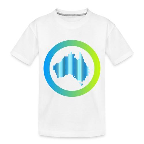 Gradient Symbol Only - Toddler Premium Organic T-Shirt