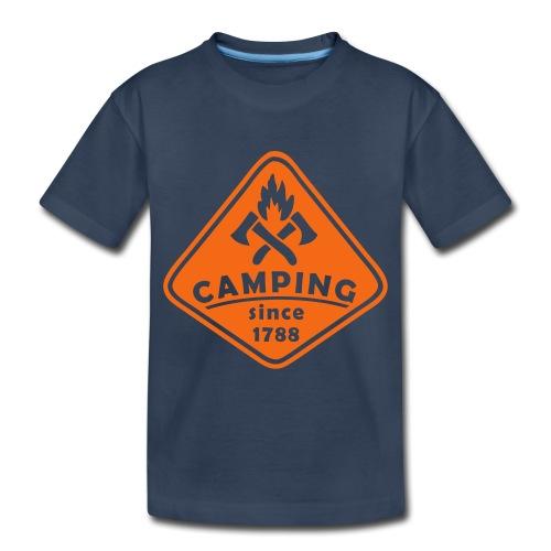 Campfire - Toddler Premium Organic T-Shirt