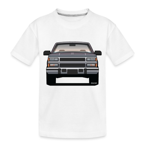 Design Icon: American Bowtie Silver Urban Truck - Toddler Premium Organic T-Shirt