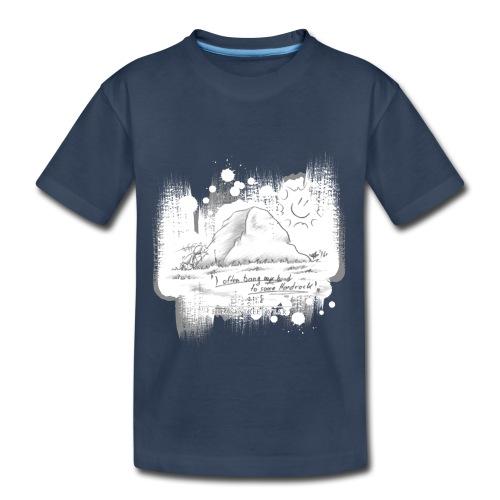 Listen to Hardrock - Toddler Premium Organic T-Shirt