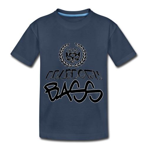 BEATDOWN BLACK LOGO - Toddler Premium Organic T-Shirt