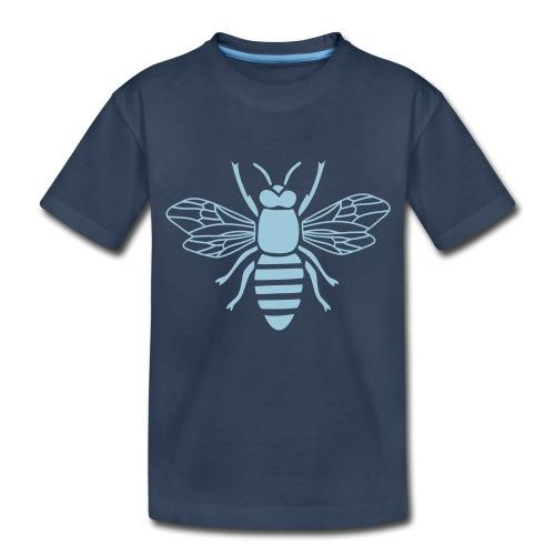 bee i love honey bumble bee honeycomb beekeeper wa - Toddler Premium Organic T-Shirt