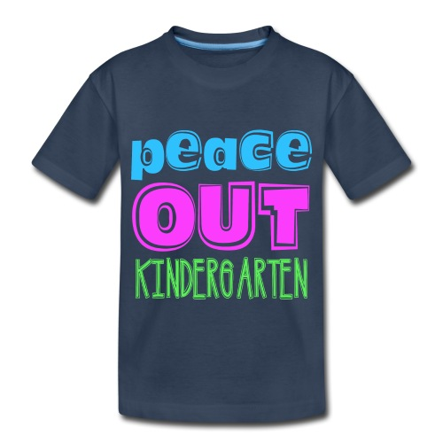 Kreative In Kinder Peace Out - Toddler Premium Organic T-Shirt