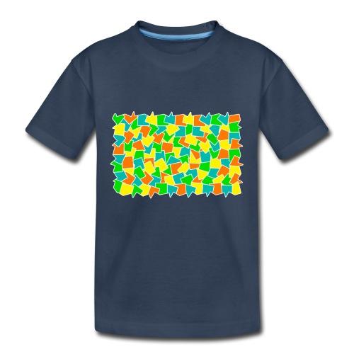 Dynamic movement - Toddler Premium Organic T-Shirt