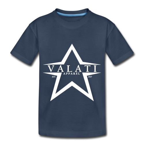 V-Star White - Toddler Premium Organic T-Shirt