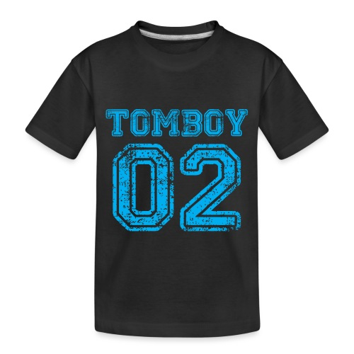 Tomboy02 png - Toddler Premium Organic T-Shirt