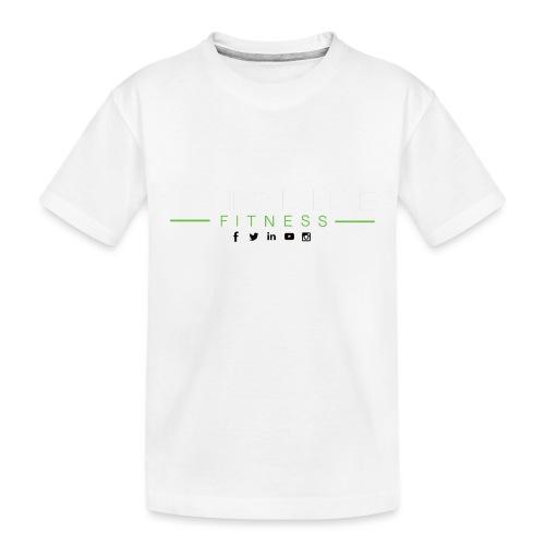 hlfsocialwht - Toddler Premium Organic T-Shirt