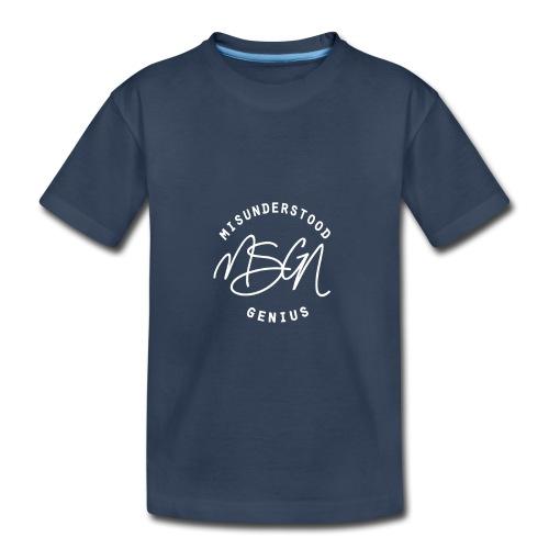 MSGN Logo - Toddler Premium Organic T-Shirt