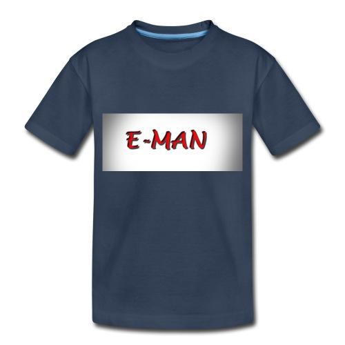E-MAN - Toddler Premium Organic T-Shirt