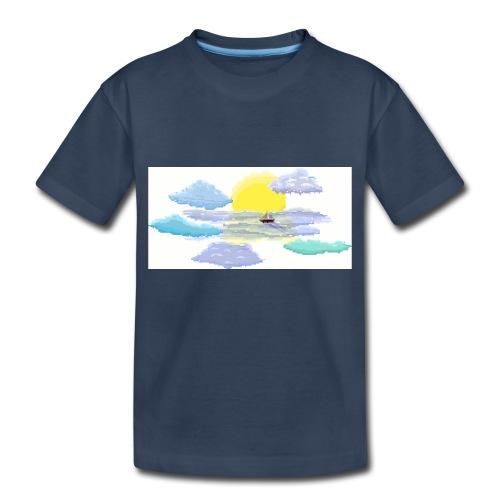 Sea of Clouds - Toddler Premium Organic T-Shirt