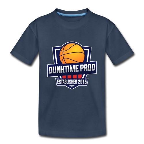 DUNKIME Producions Logo - Toddler Premium Organic T-Shirt