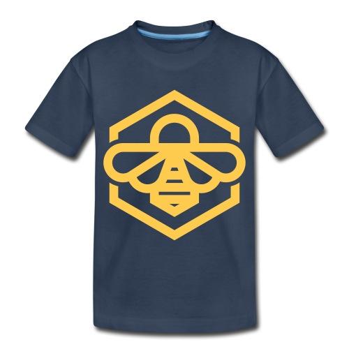 bee symbol orange - Toddler Premium Organic T-Shirt