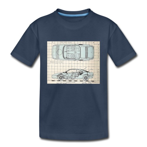drawings - Toddler Premium Organic T-Shirt
