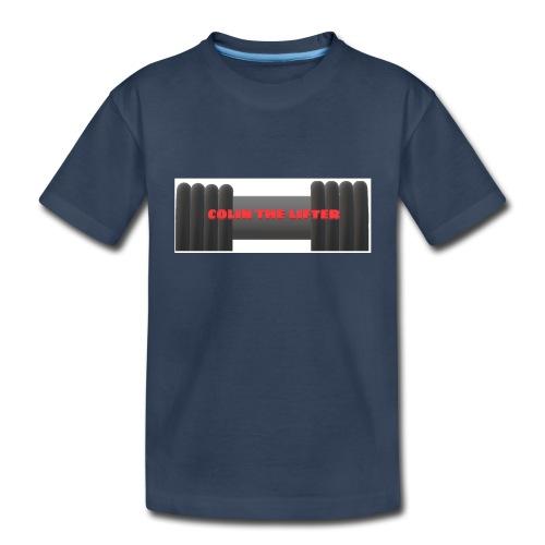 colin the lifter - Toddler Premium Organic T-Shirt