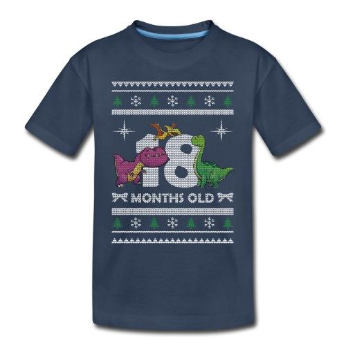 Christmas 18 months old - Toddler Premium Organic T-Shirt