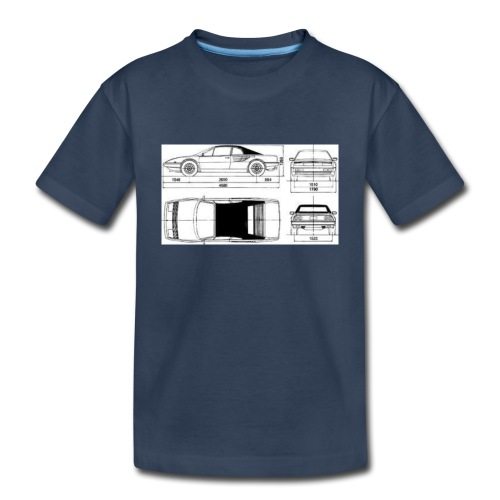 artists rendering - Toddler Premium Organic T-Shirt