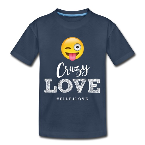 Crazy Love - Toddler Premium Organic T-Shirt