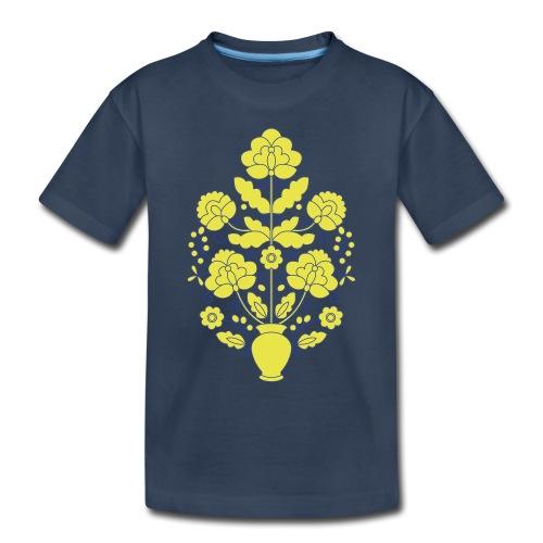 Tree of Life on White - Toddler Premium Organic T-Shirt