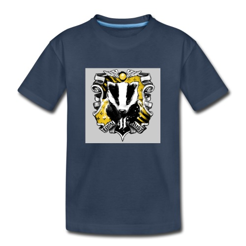 hufflepuff - Toddler Premium Organic T-Shirt