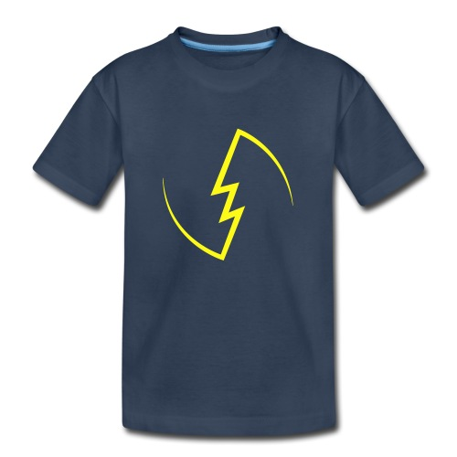 Electric Spark - Toddler Premium Organic T-Shirt