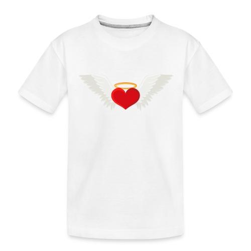 Winged heart - Angel wings - Guardian Angel - Toddler Premium Organic T-Shirt
