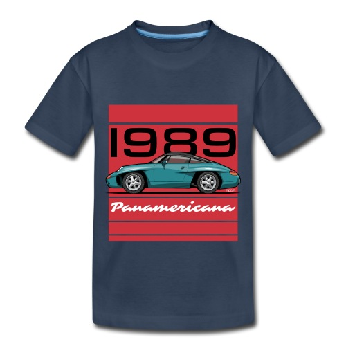 1989 P0r5che Panamericana Concept Car - Toddler Premium Organic T-Shirt