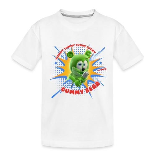 Funny Lucky Gummy Bear - Toddler Premium Organic T-Shirt