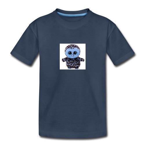 blue_hootie - Toddler Premium Organic T-Shirt