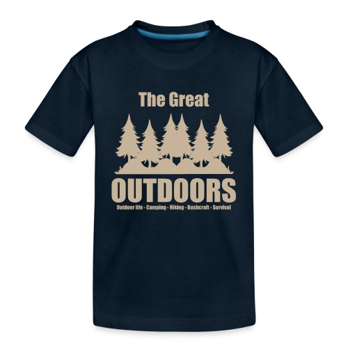 The great outdoors - Clothes for outdoor life - Toddler Premium Organic T-Shirt