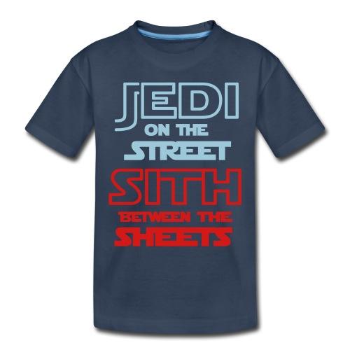 Jedi Sith Awesome Shirt - Toddler Premium Organic T-Shirt