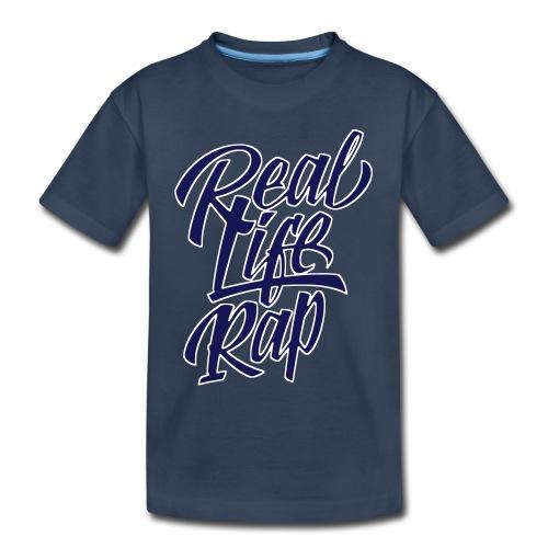 realliferap1_twocolor_rev - Toddler Premium Organic T-Shirt
