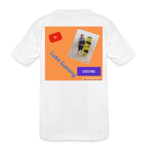 Luke Gaming T-Shirt - Toddler Premium Organic T-Shirt
