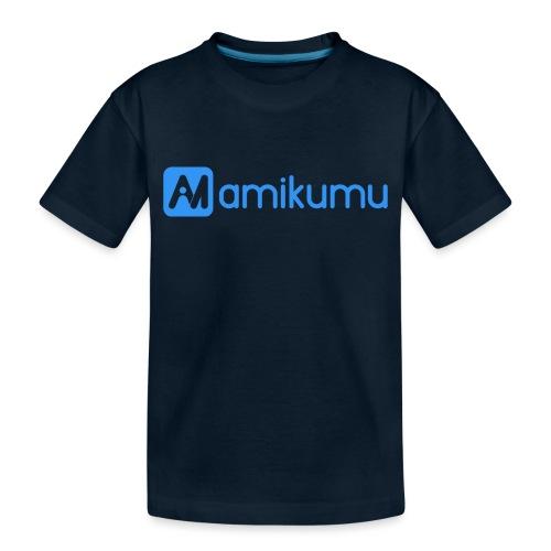 Amikumu Logo Blue - Toddler Premium Organic T-Shirt