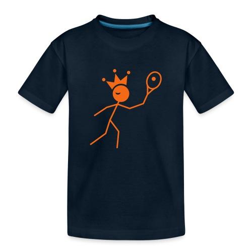 Winky Tennis King - Toddler Premium Organic T-Shirt