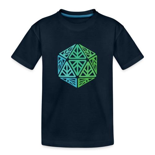 Green Leaf Geek Iconic Logo - Toddler Premium Organic T-Shirt