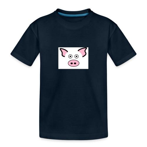 pig - Toddler Premium Organic T-Shirt