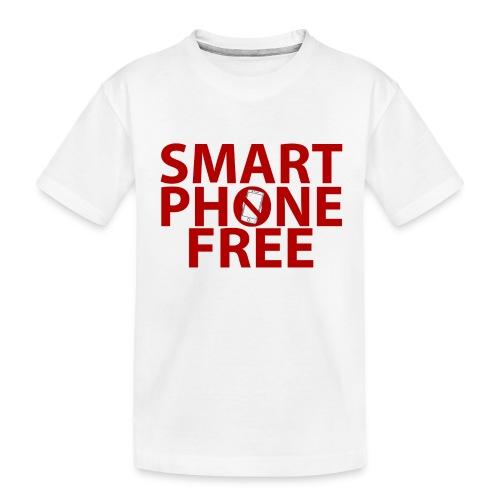 SMART PHONE FREE - Toddler Premium Organic T-Shirt