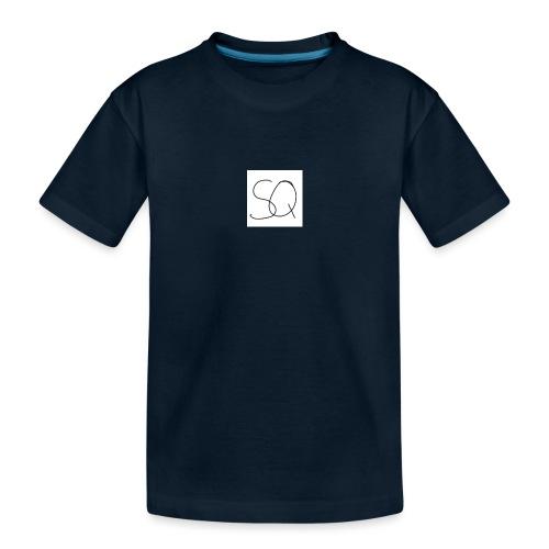 Smokey Quartz SQ T-shirt - Toddler Premium Organic T-Shirt
