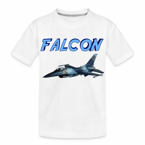 F-16 Fighting Falcon - Kid's Premium Organic T-Shirt