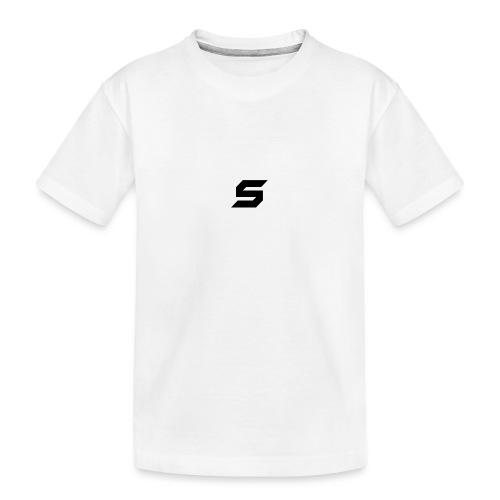 A s to rep my logo - Kid's Premium Organic T-Shirt