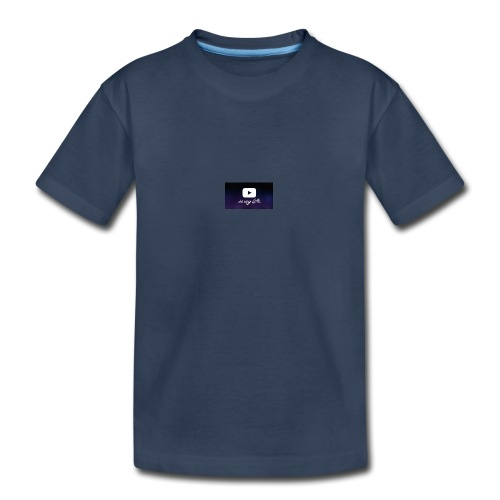 my life is youtube poster - Kid's Premium Organic T-Shirt