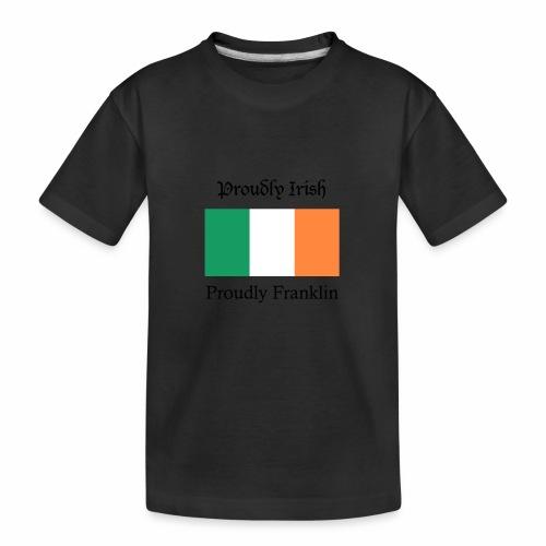 Proudly Irish, Proudly Franklin - Kid's Premium Organic T-Shirt