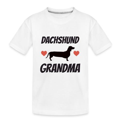 Dachshund Grandma - Kid's Premium Organic T-Shirt