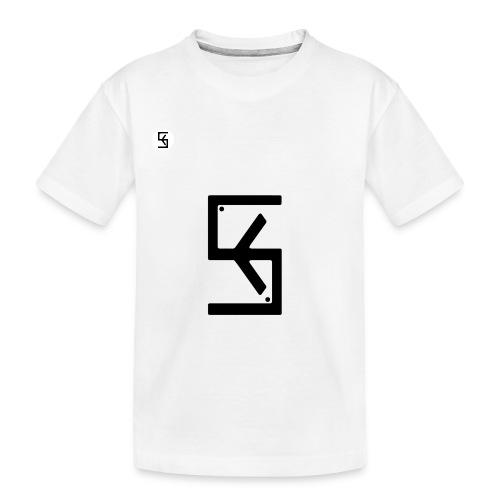 Soft Kore Logo Black - Kid's Premium Organic T-Shirt