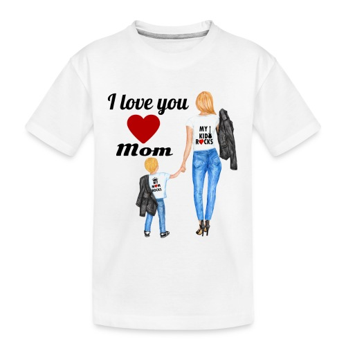 Mother's day gift from daughter, Mother's Day Gift - Kid's Premium Organic T-Shirt