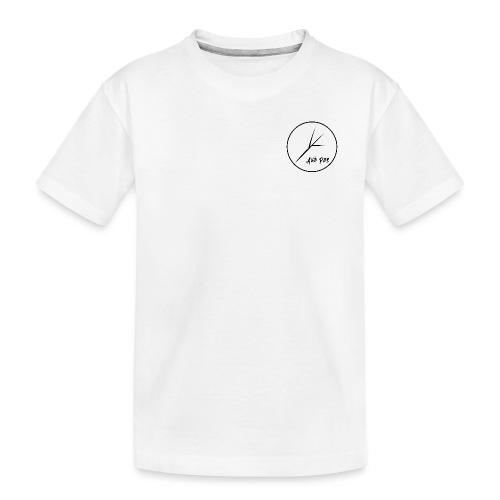 Black Circle - Kid's Premium Organic T-Shirt