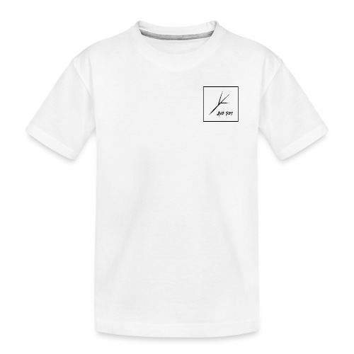Black Square - Kid's Premium Organic T-Shirt
