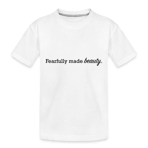 fearfully made beauty - Kid's Premium Organic T-Shirt